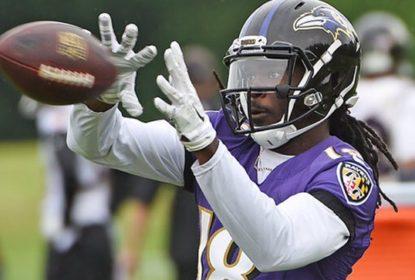 Recuperado de cirurgia, Breshad Perriman anima Ravens para treinamentos - The Playoffs