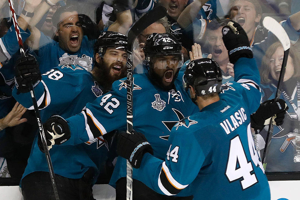 Sharks vence Penguins no jogo 3 da Final da Stanley Cup