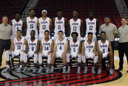 Seleção dos Estados Unidos divulga lista com 25 atletas que treinarão com a equipe principal - The Playoffs
