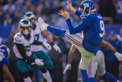 Giants renovam contrato com Brad Wing - The Playoffs