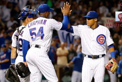 Chapman doutrina na vitória dos Cubs sobre White Sox - The Playoffs