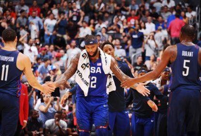 Em seu segundo amistoso pré-olímpico, Estados Unidos atropelam China - The Playoffs