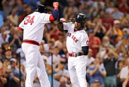 Hanley Ramirez bate 3 Home Runs em vitória do Boston Red Sox sobre San Francisco Giants - The Playoffs
