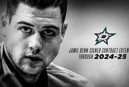Jamie Benn acerta contrato de extensão em Dallas por mais oito anos - The Playoffs