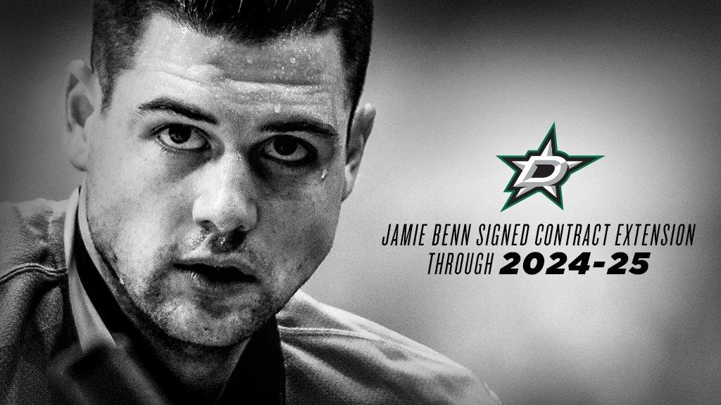 Jamie Benn acerta com Dallas Stars por mais 8 anos