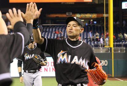 Ichiro Suzuki deixa dois hits na vitória dos Marlins sobre Phillies e está perto dos 3 mil - The Playoffs