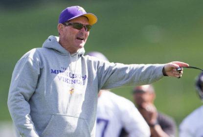 Vikings se aproximam de extensão de contrato com head coach Mike Zimmer - The Playoffs