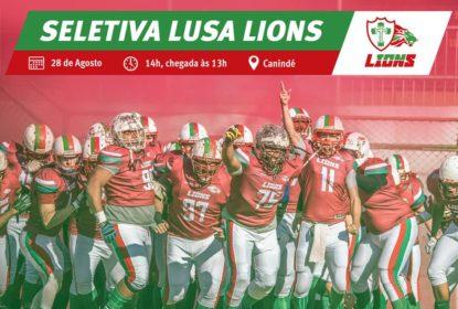 Lusa Lions abre seletiva para novos atletas - The Playoffs