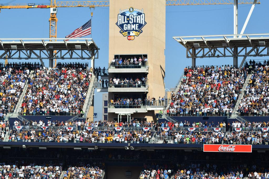 All-Star Game em San Diego teve clima de rivalidade do começo ao fim ... 8b1c8904d0e