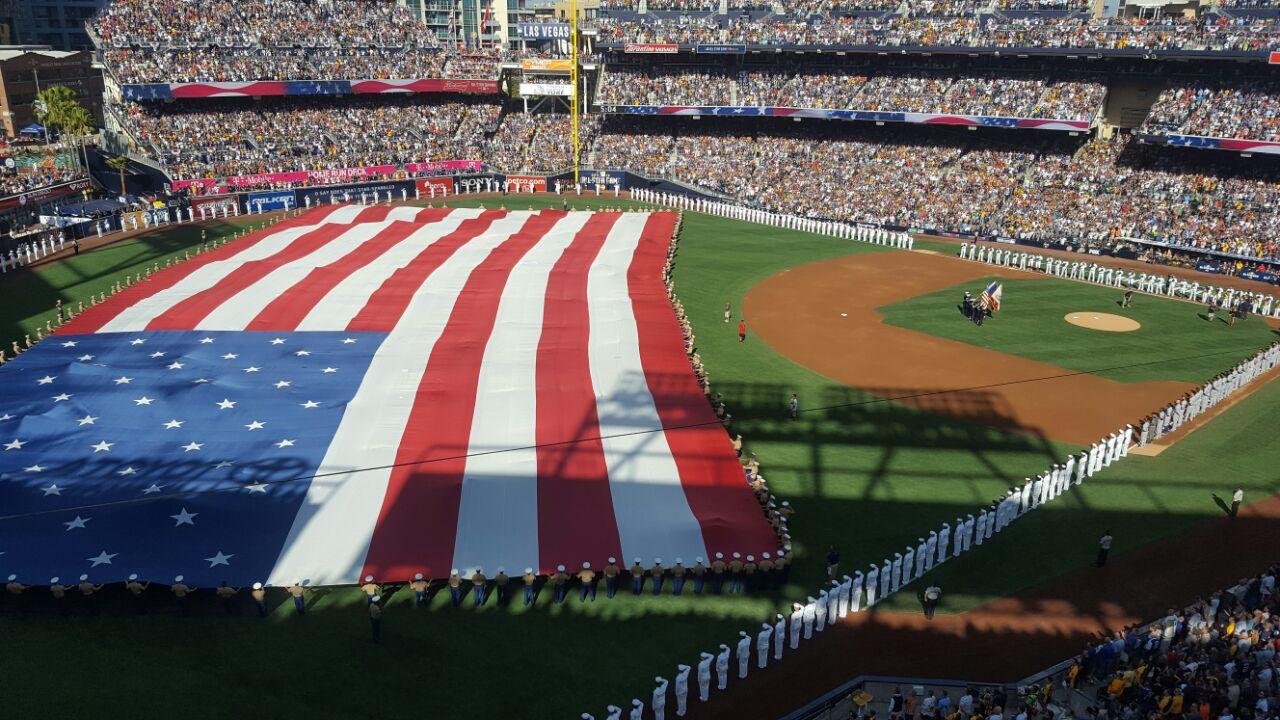 Cerimônia de abertura do All-Star Game da MLB