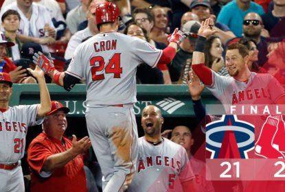 C. J. Cron tem diagnosticada fratura na mão e fica fora por 6-8 semanas nos Angels - The Playoffs