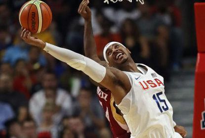 Carmelo Anthony exalta Jogos Olímpicos e compara medalhas de ouro com título da NBA - The Playoffs
