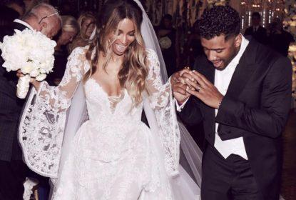Russell Wilson e Ciara se casam na Inglaterra - The Playoffs