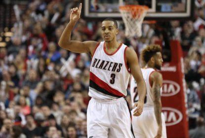 C.J. McCollum é suspenso e está fora da estreia dos Blazers na NBA - The Playoffs