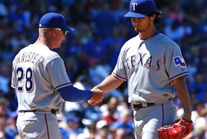 Em retorno de Darvish, Rangers perdem para os Cubs - The Playoffs