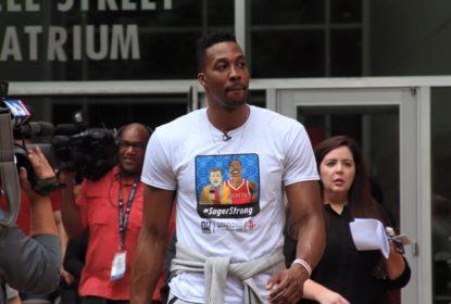 Dwight Howard diz que comentários de Shaquille O'Neal são irrelevantes - The Playoffs