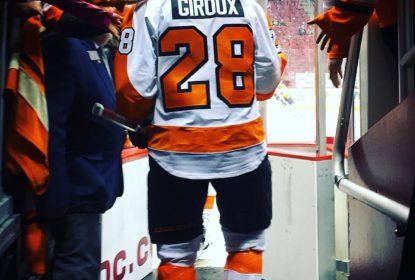 Giroux volta ao gelo depois de cirurgia feita em maio - The Playoffs
