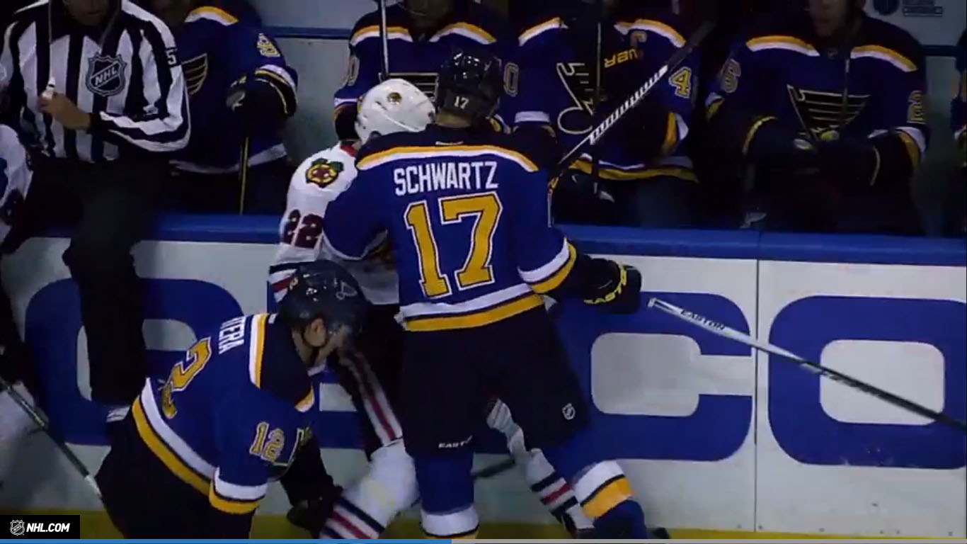 Jason Schwartz é posto na lista de machucados e Blues convocam Barbashev - The Playoffs