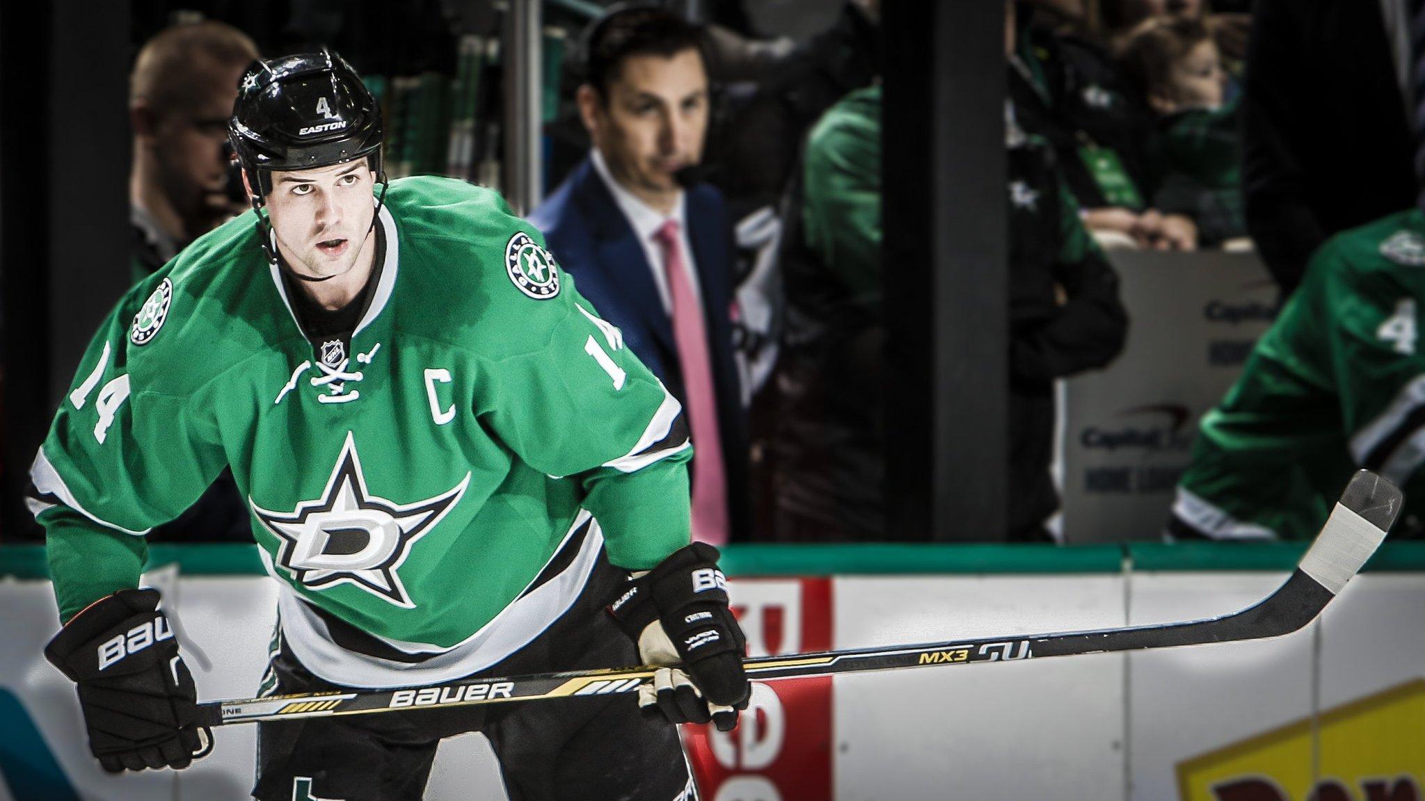 Jamie Benn é capitão do Dallas Stars