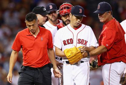 Koji Uehara vai para lista de contundidos dos Red Sox - The Playoffs