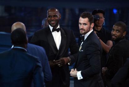 LeBron James vence prêmio ESPYS 2018 como melhor jogador da NBA - The Playoffs