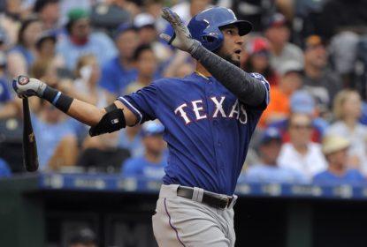 Nomar Mazara anotou home run em vitória dos Rangers sobre os Royals
