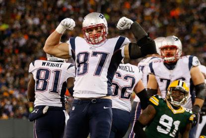 Rob Gronkowski é tight end do New England Patriots
