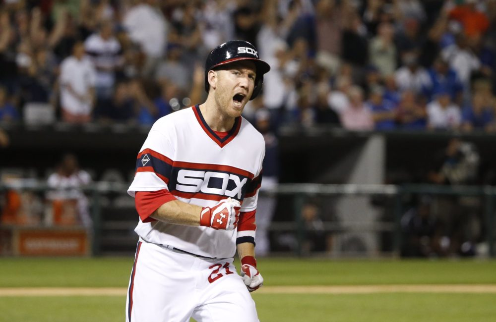 Todd Frazier anotou um importante home run para os White Sox