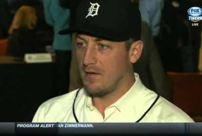 Tigers colocam Jordan Zimmermann na DL - The Playoffs