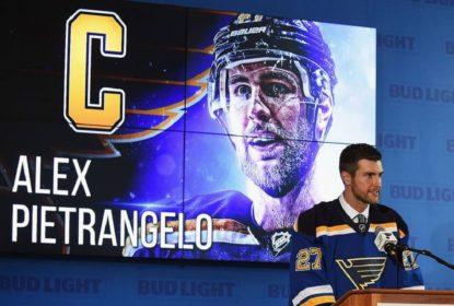 Blues nomeiam Alex Pietrangelo como novo capitão da equipe - The Playoffs