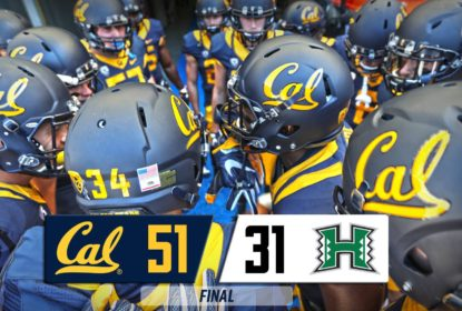 Na abertura da temporada 2016 do College Football, California atropela Hawaii - The Playoffs
