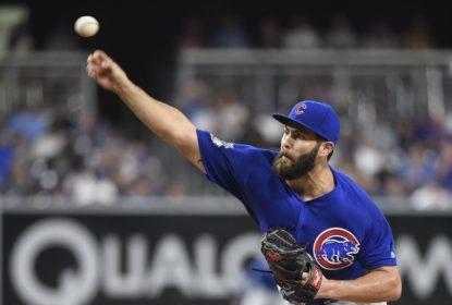 Jake Arrieta domina e Chicago Cubs bate San Diego Padres, chegando a 80ª vitória - The Playoffs