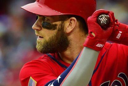 Nationals vencem Phillies mas não contam com retorno de Bryce Harper - The Playoffs