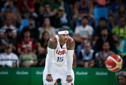 """Carmelo sobre a possibilidade de sair do banco no Houston Rockets: """"Vamos apenas jogar"""" - The Playoffs"""