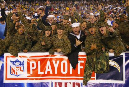 Chargers vão homenagear os militares em partida contra os 49ers - The Playoffs