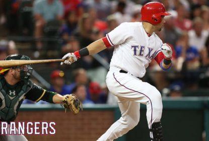 """Carlos Beltran comenta sua chegada aos Rangers: """"Aqui é mais beisebol"""" - The Playoffs"""