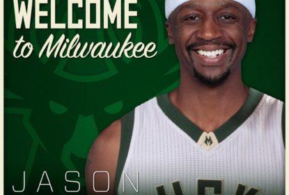 Jason Terry fecha com o Milwaukee Bucks - The Playoffs
