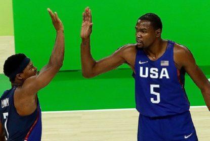 Em estreia tranquila, Estados Unidos arrasam China - The Playoffs