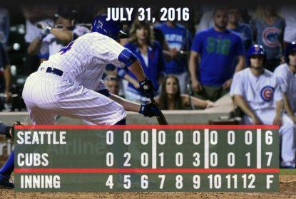 Com toque de Jon Lester, Cubs batem Mariners de virada - The Playoffs