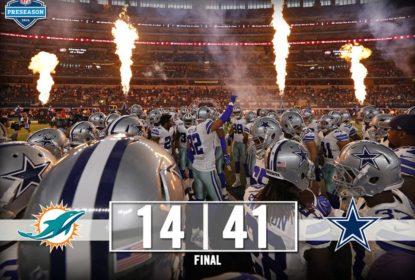 Dallas Cowboys ganha do Miami Dolphins com boa participação de quarterback rookie - The Playoffs