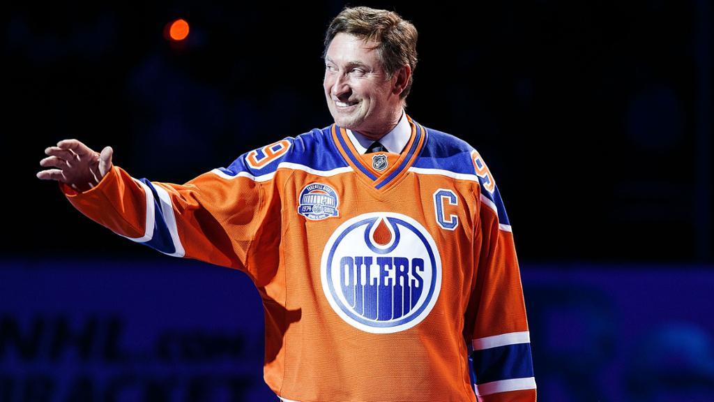 Wayne Gretzky participa do Heritage Classic