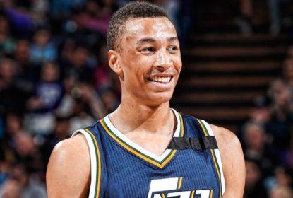 Dante Exum se recupera de lesão e volta ao Jazz - The Playoffs