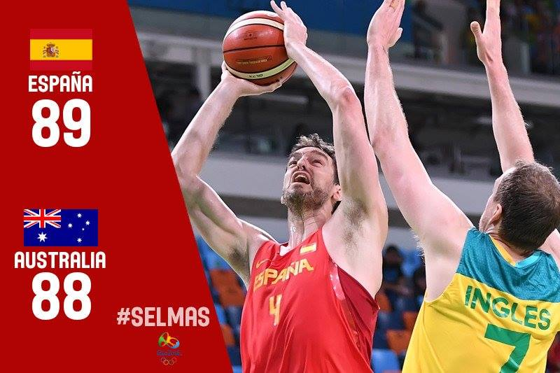 Espanha conquista bronze no basquete da Rio 2016
