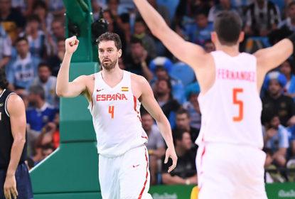 Sem dificuldades, Espanha vence Argentina e elimina Brasil das Olimpíadas - The Playoffs
