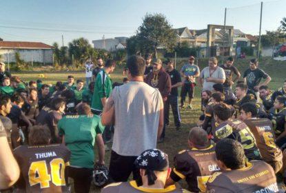 Coritiba Crocodiles e Brown Spiders fazem treino conjunto de times sub-19 - The Playoffs
