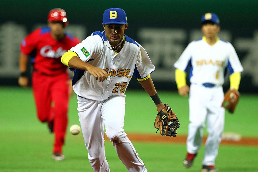 Leonardo Reginatto é um dos destaques do beisebol brasileiro