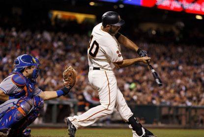 Com home run de Madison Bumgarner, Giants vencem Mets - The Playoffs