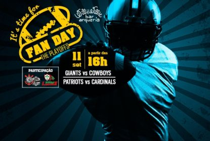 FAN DAY: The Playoffs promove festa para abertura da temporada 2016 da NFL - The Playoffs