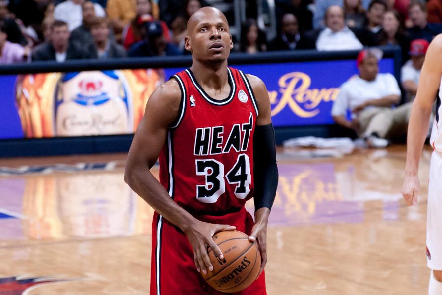 Ray Allen jogou pela última vez na NBA pelo Miami Heat