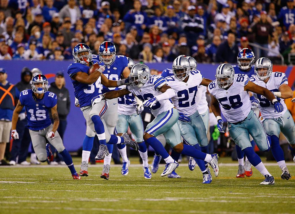 Giants e Cowboys fazem primeiro jogo da temporada 2016 da NFL